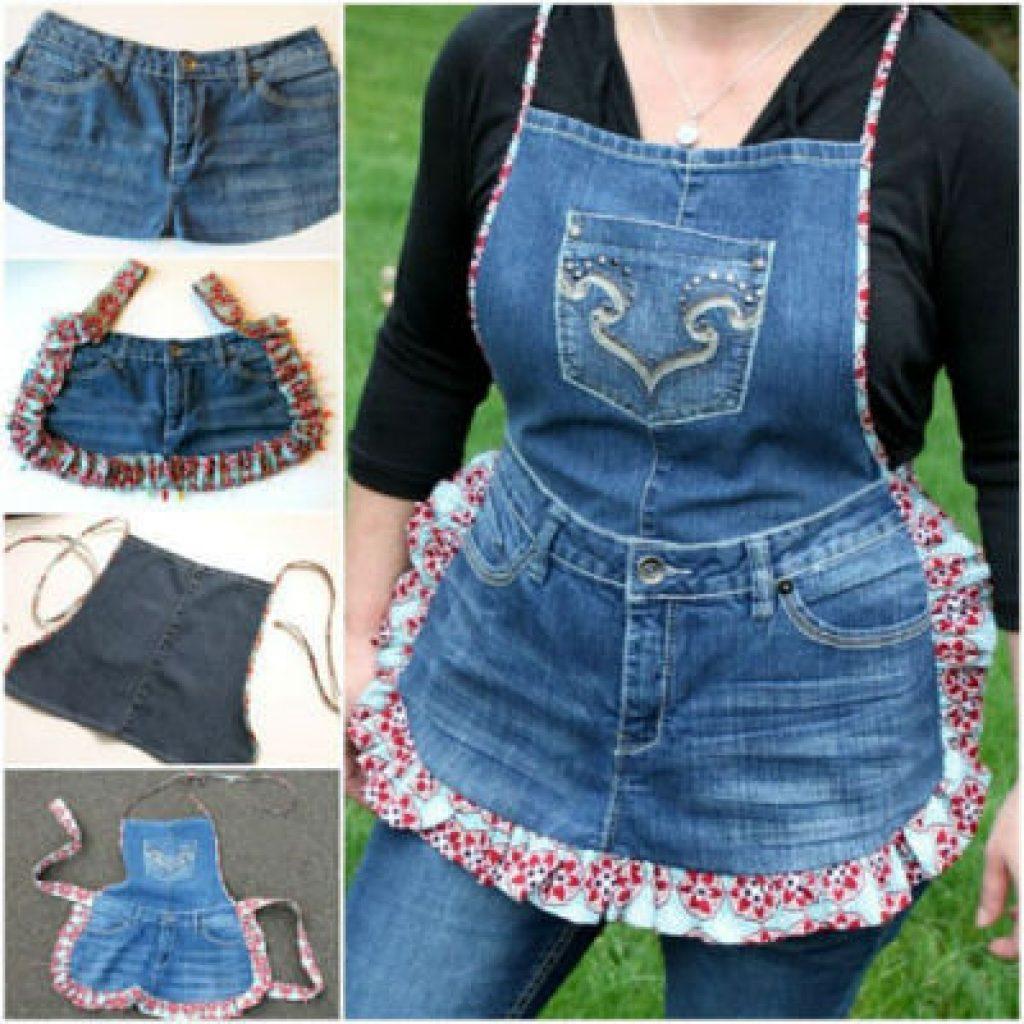 Что можно сделать из старых джинсов своими руками для девочки 35
