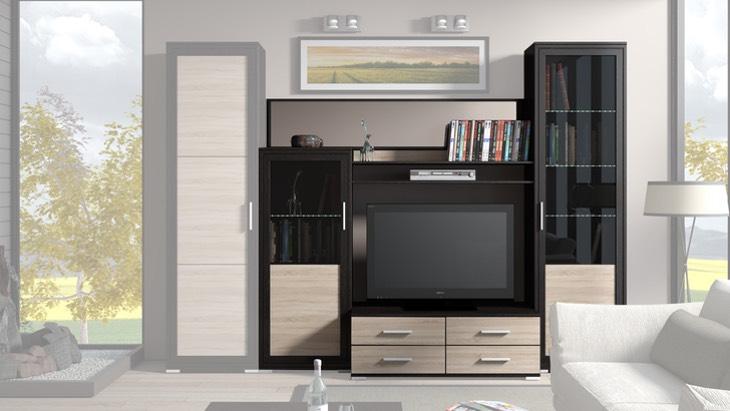 Подбор мебели для гостиной в небольшую квартиру