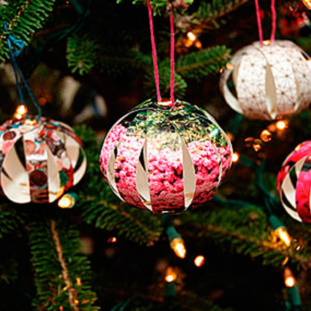 Новый год-игрушки на елку своими руками