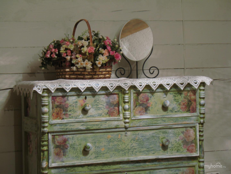 Как декорировать комоды своими руками фото 756