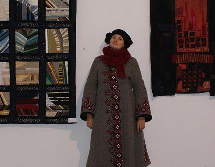 Тексты текстиля: в Киеве экспонируются уникальные работы на триенале