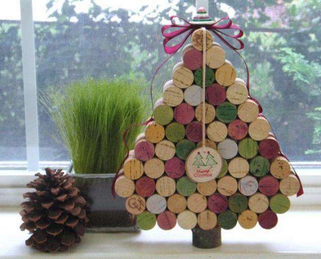 Новогодние елки: 7 хенд-мейд вариантов
